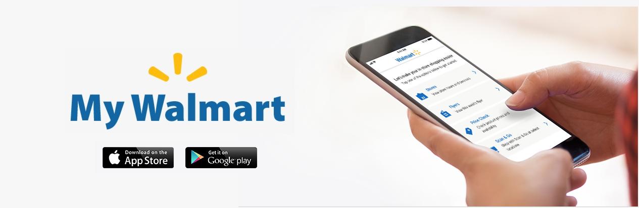 MyWalmart App. Photo:  Walmart Canada