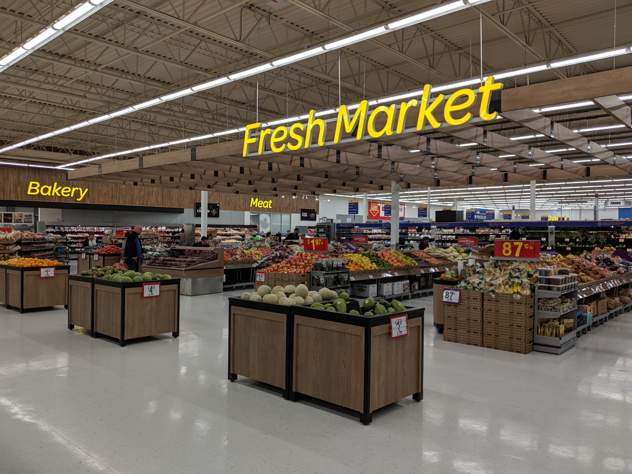 Stockyards Urban Supercentre Concept Fresh Market