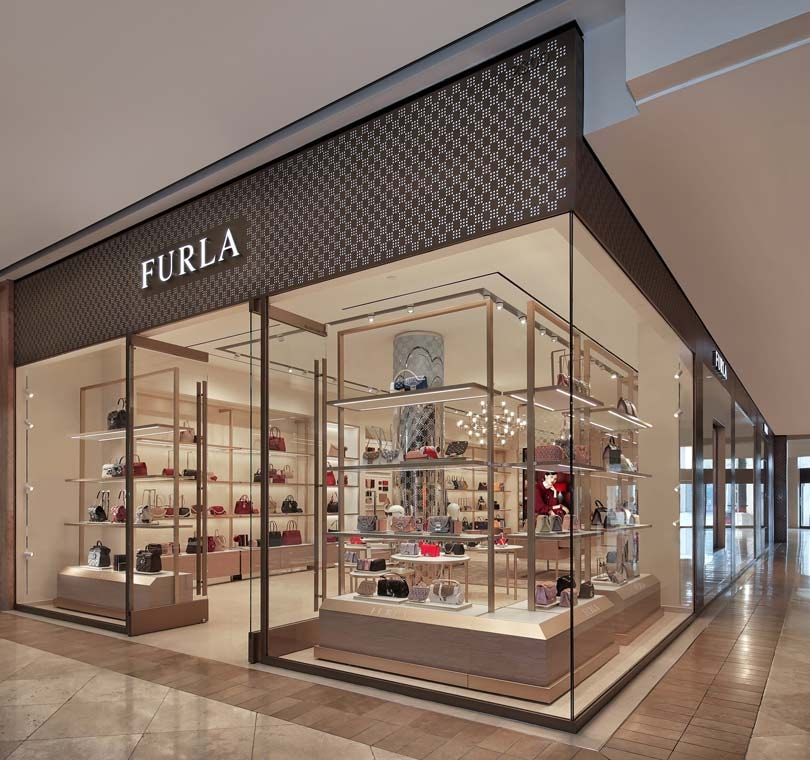 A 'new look' Furla boutique opened at South Coast Plaza in Costa Mesa, CAlifornia, in January of 2019. Photo: Furla