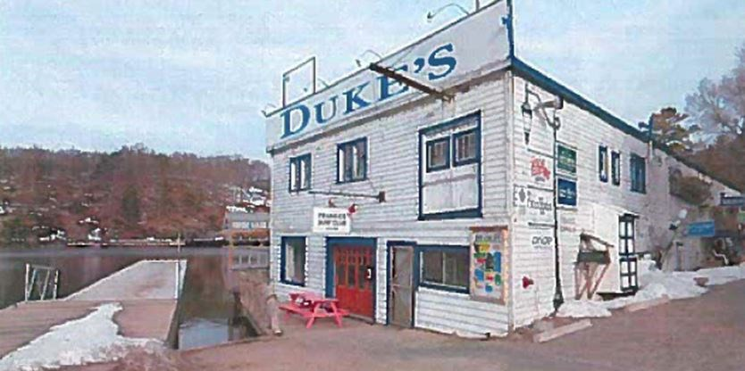 DUKE'S BUILDING IN PORT CARLING PHOTO: VIA MUSKOKAREGION.COM