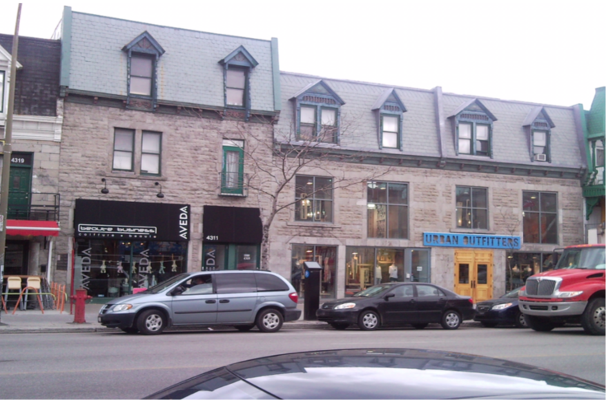RETAIL SPACE AVAILABLE AT 4301-4311 st-denis, montréal, qc