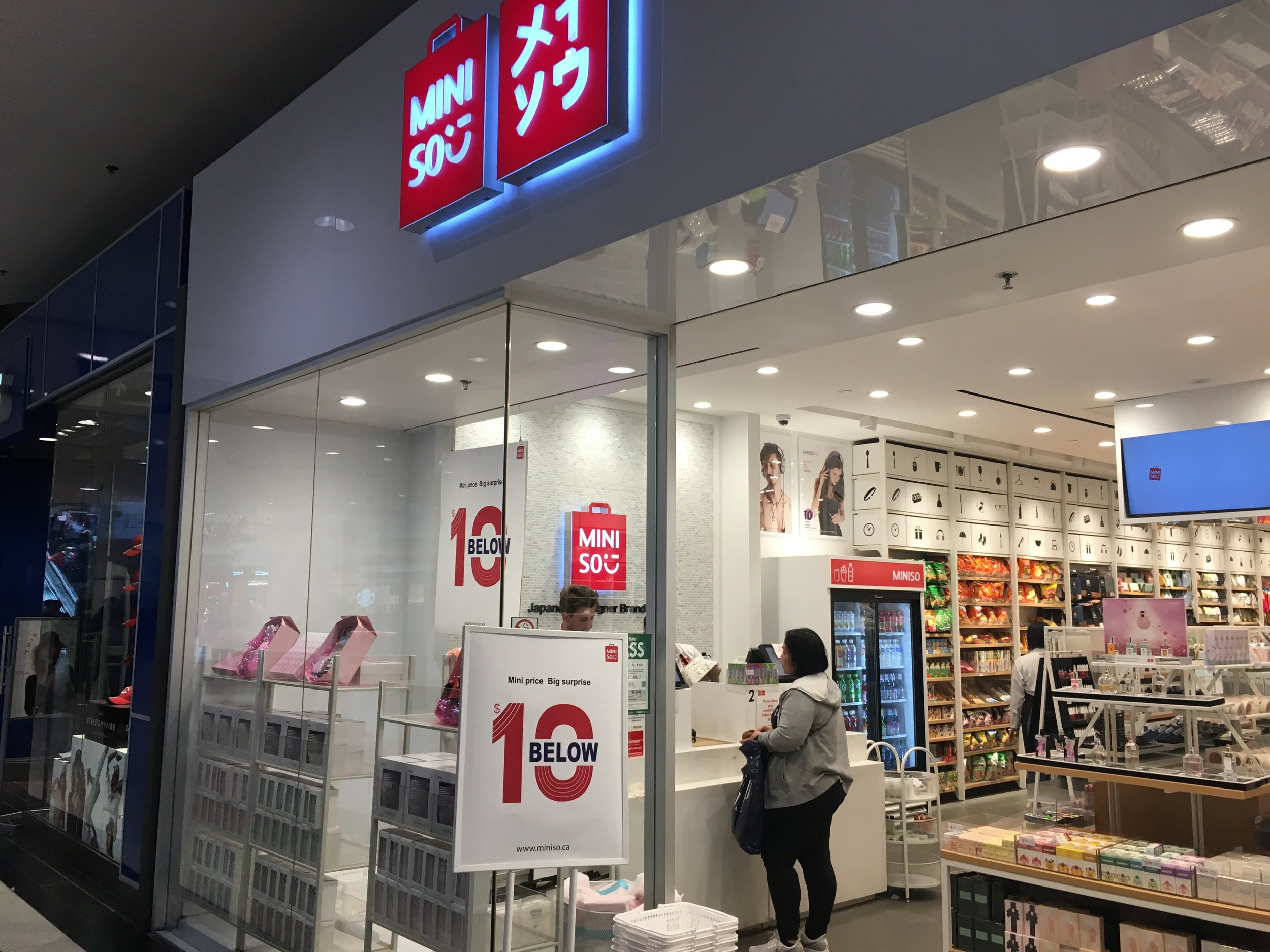MINISO AT CF TORONTO EATON CENTRE PHOTO: CRAIG PATTERSON