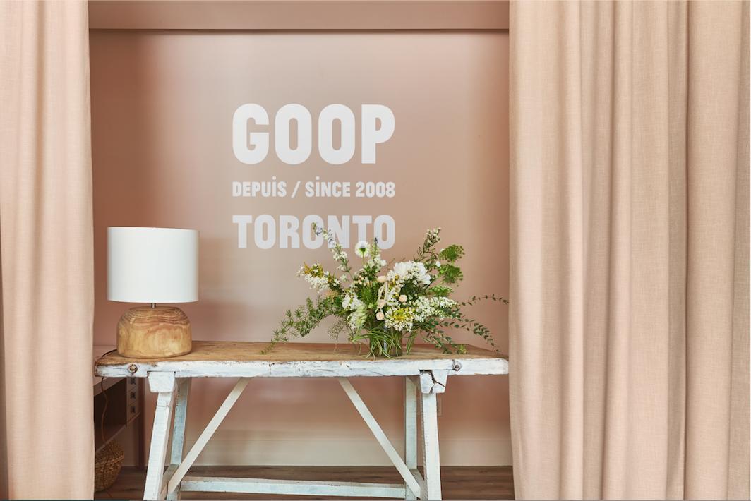 GOOP MRKT TORONTO PHOTO: GOOP