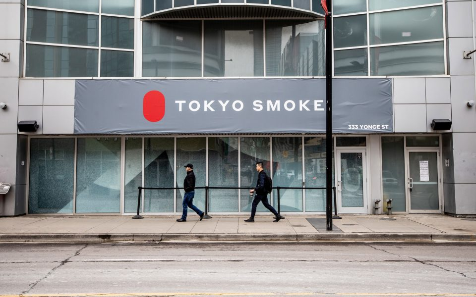 TOKYO SMOKE'S TORONTO FLAGSHIP AT YONGE AND DUNDAS PHOTO: JESSE MILNS VIA LEAFLY
