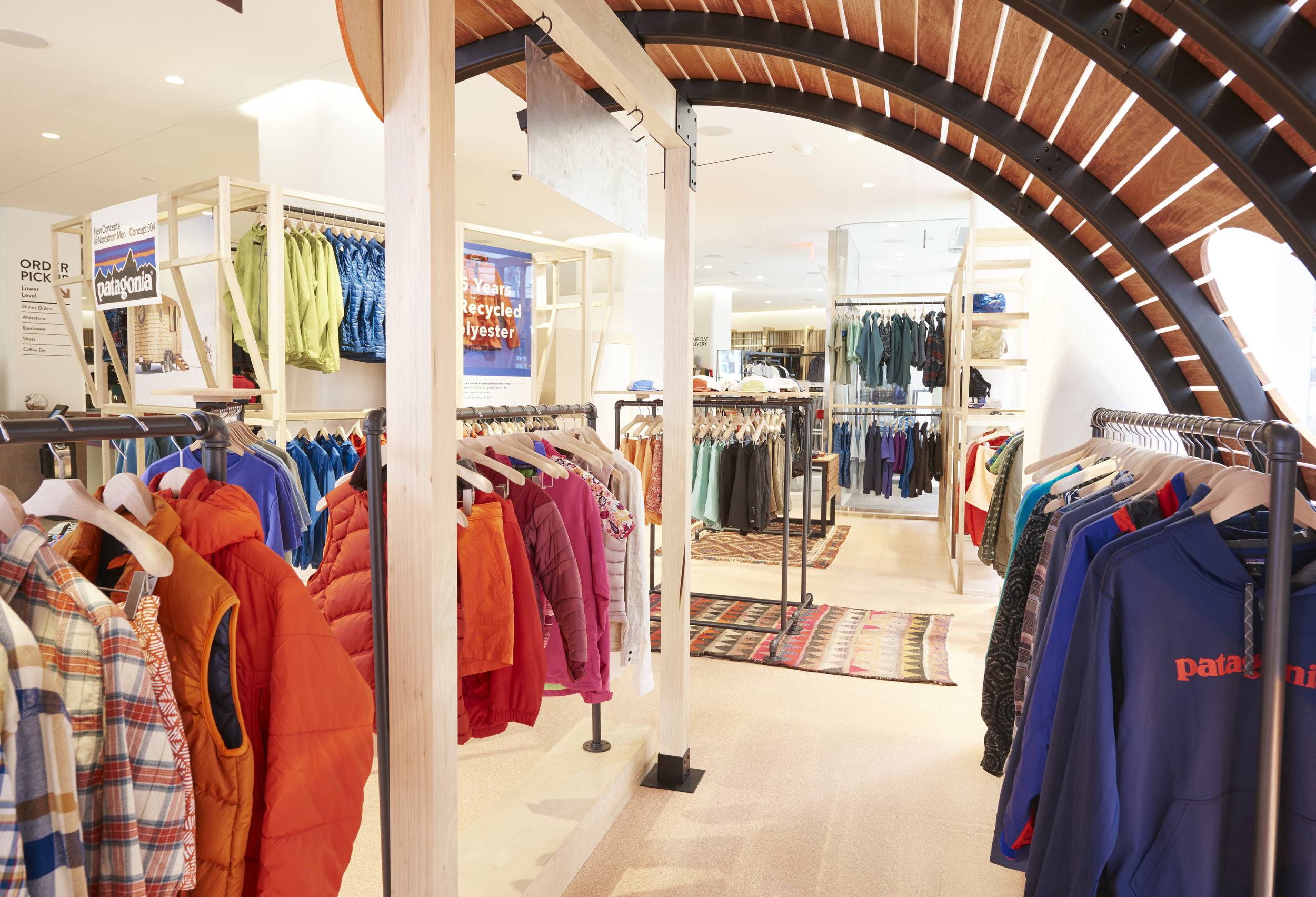 NORDSTROM'S CONCEPT 004: PATAGONIA PHOTO: NORDSTROM