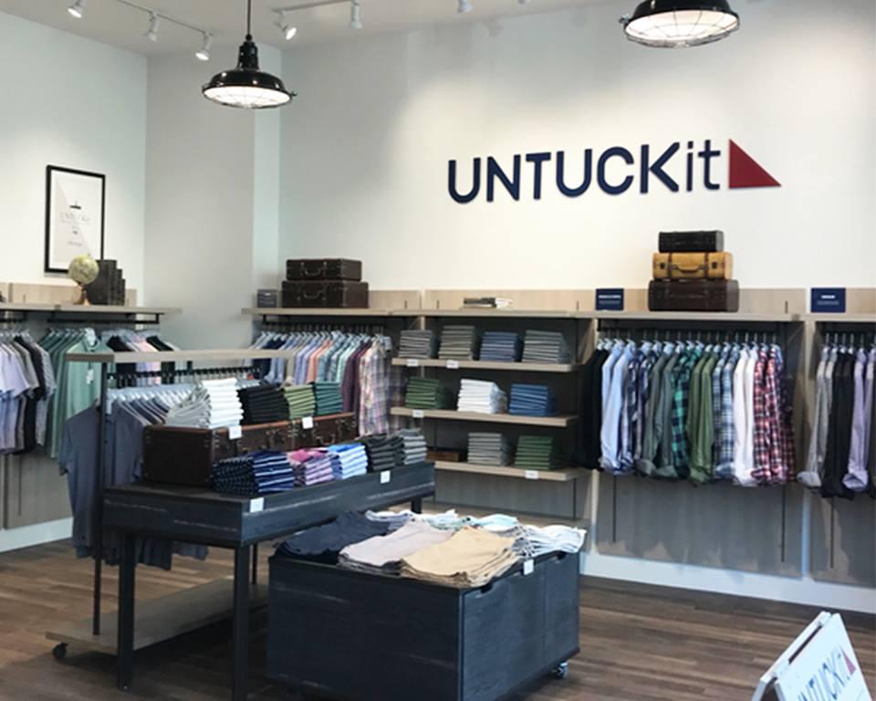 untuckit store in fort worth, texas photo: untuckit via facebook