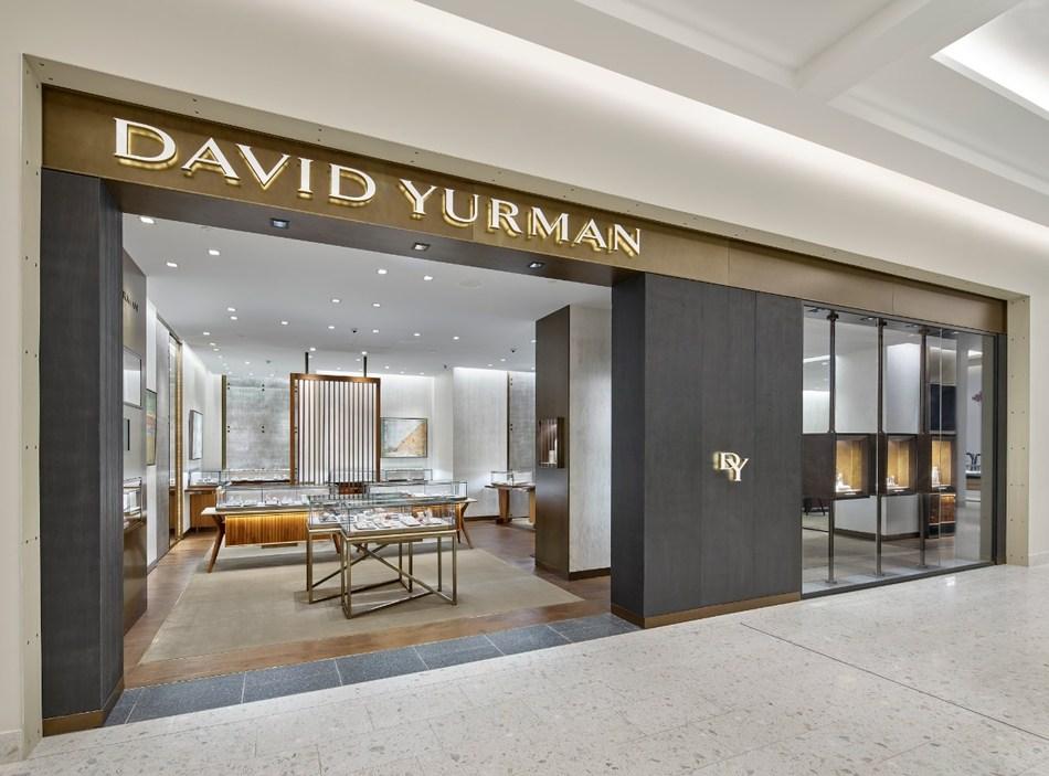 david yurman boutique at holt renfrew ogilvy photo: david yurman