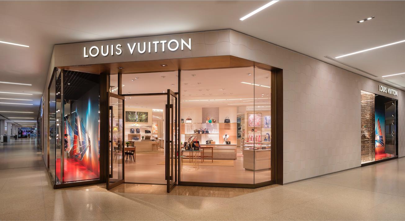 LOUIS VUITTON'S NEW WEST EDMONTON MALL BOUTIQUE PHOTO: LOUIS VUITTON