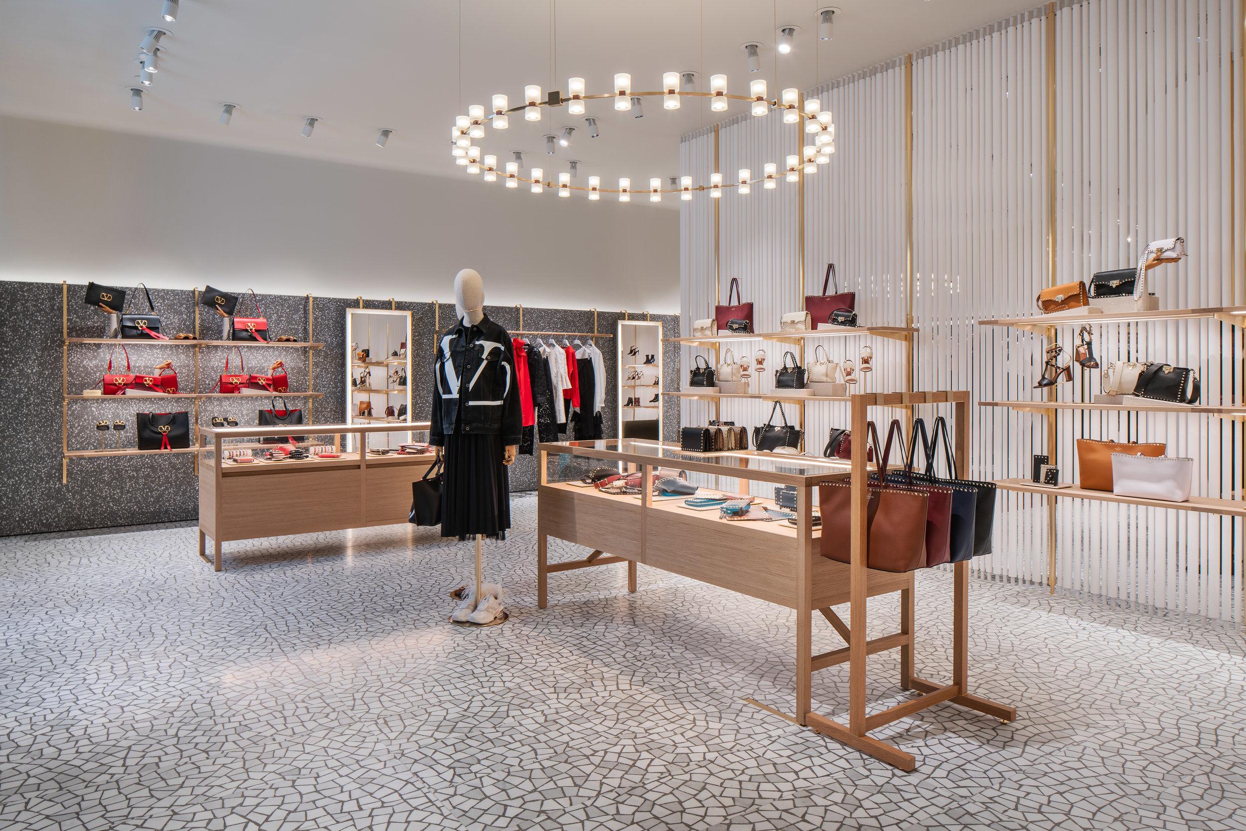 valentino's yorkdale boutique photo: michael muraz