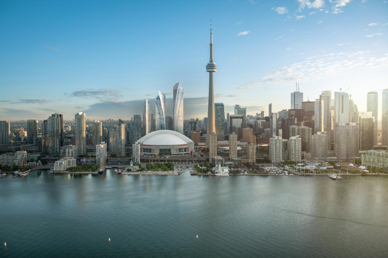 Another view of Union Park in Toronto. Image: Oxford Properties.