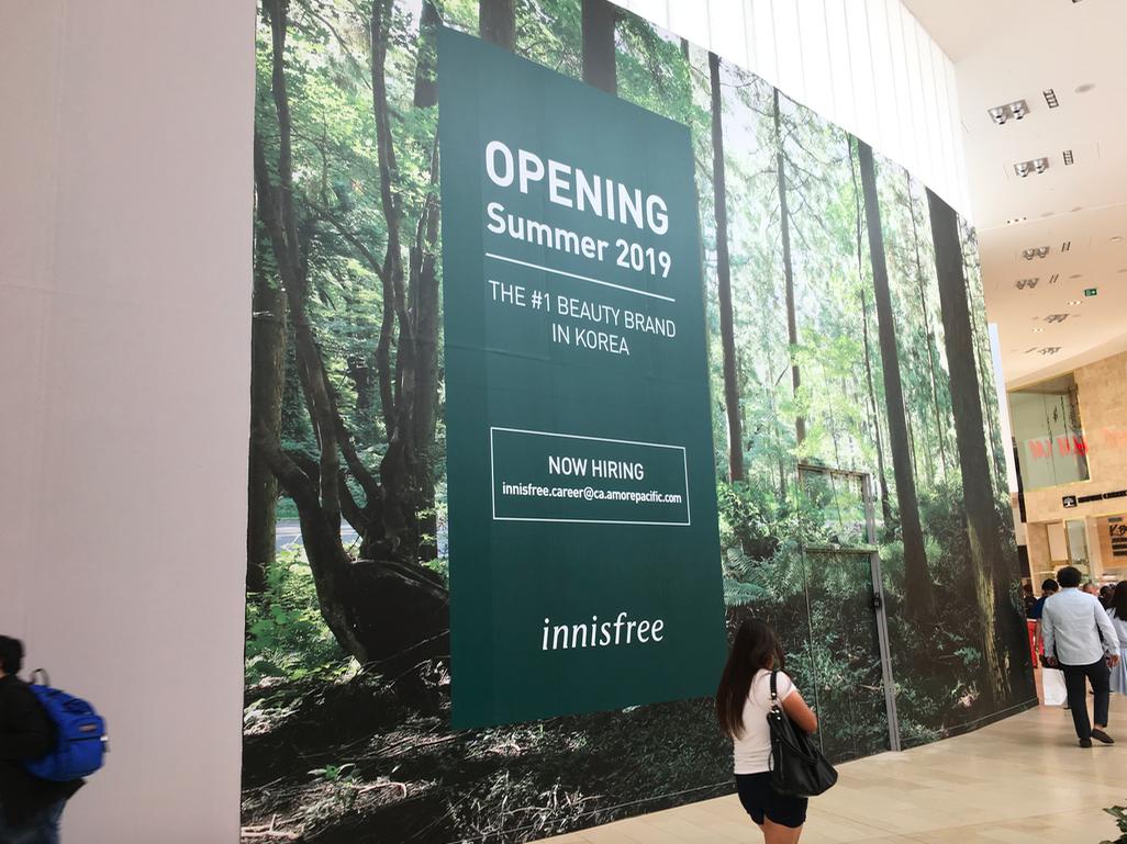 Korean Beauty Brand 'Innisfree' Secures 1st Retail Space as