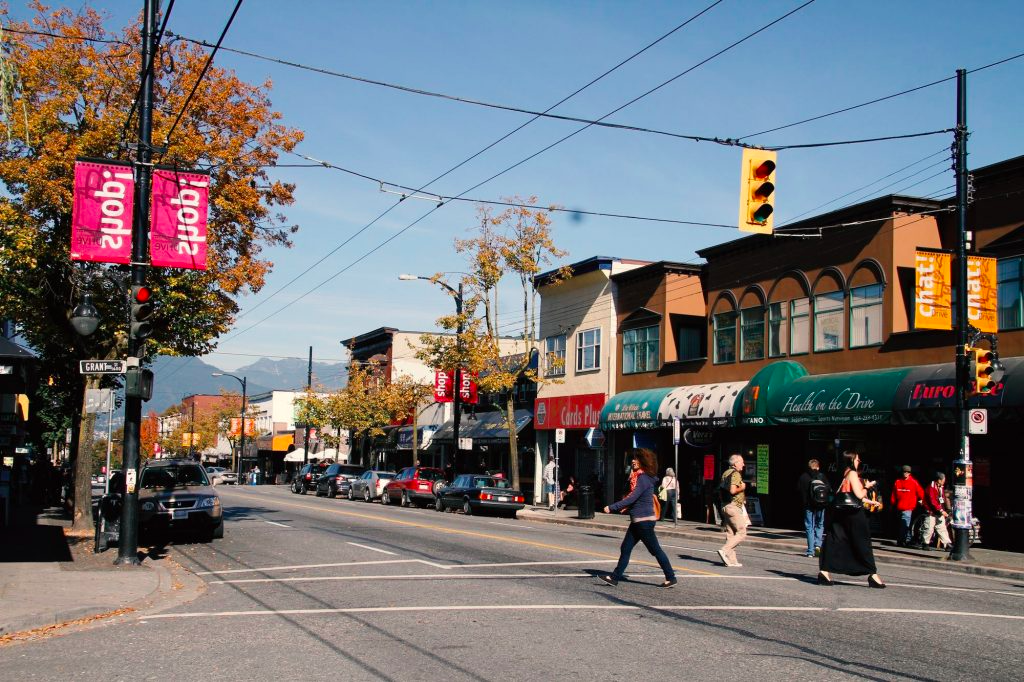 Commercial Drive in Vancouver. Photo: Liv Rent