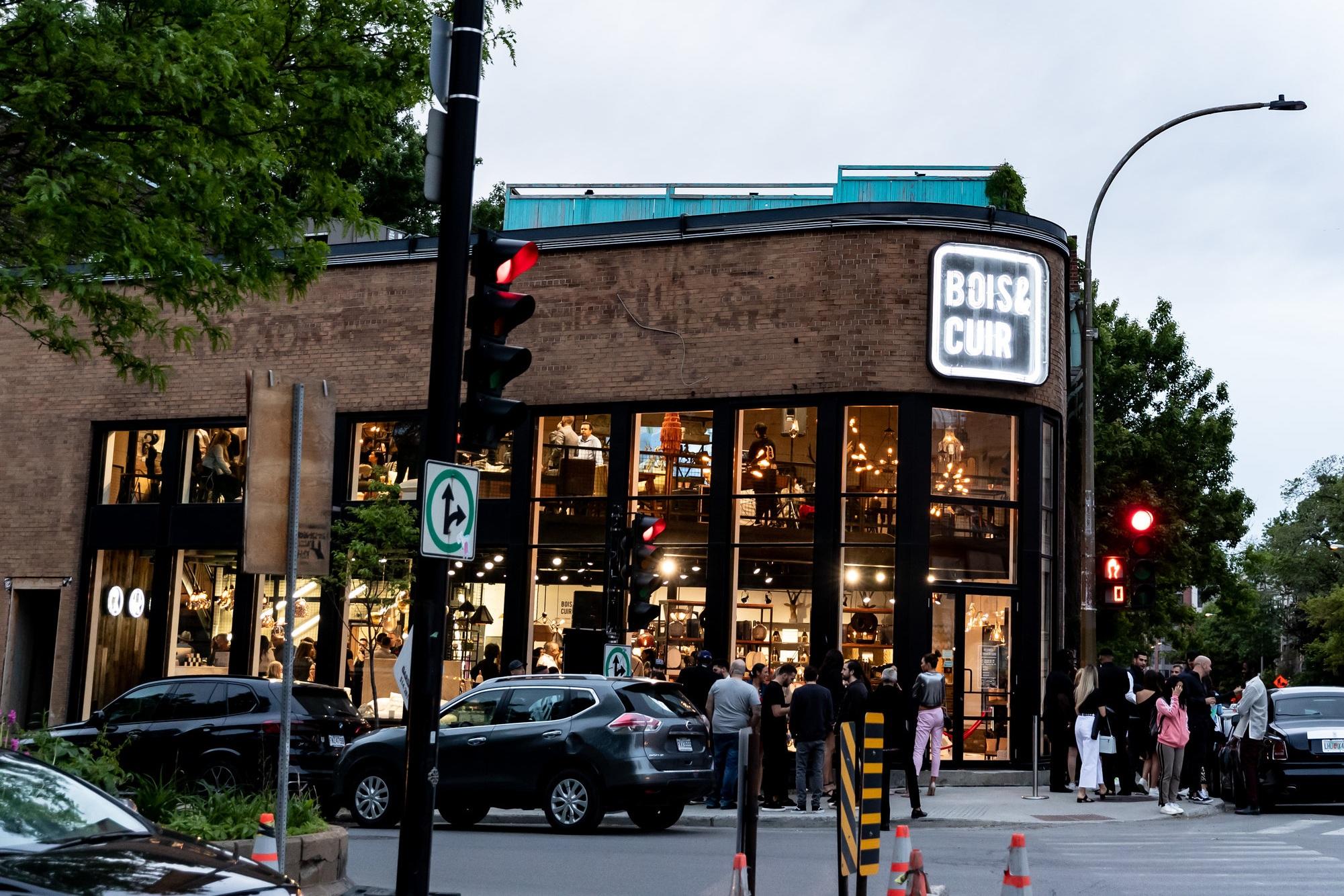 bois & cuir's new montréal flagship PHOTO: JF GALIPEAU
