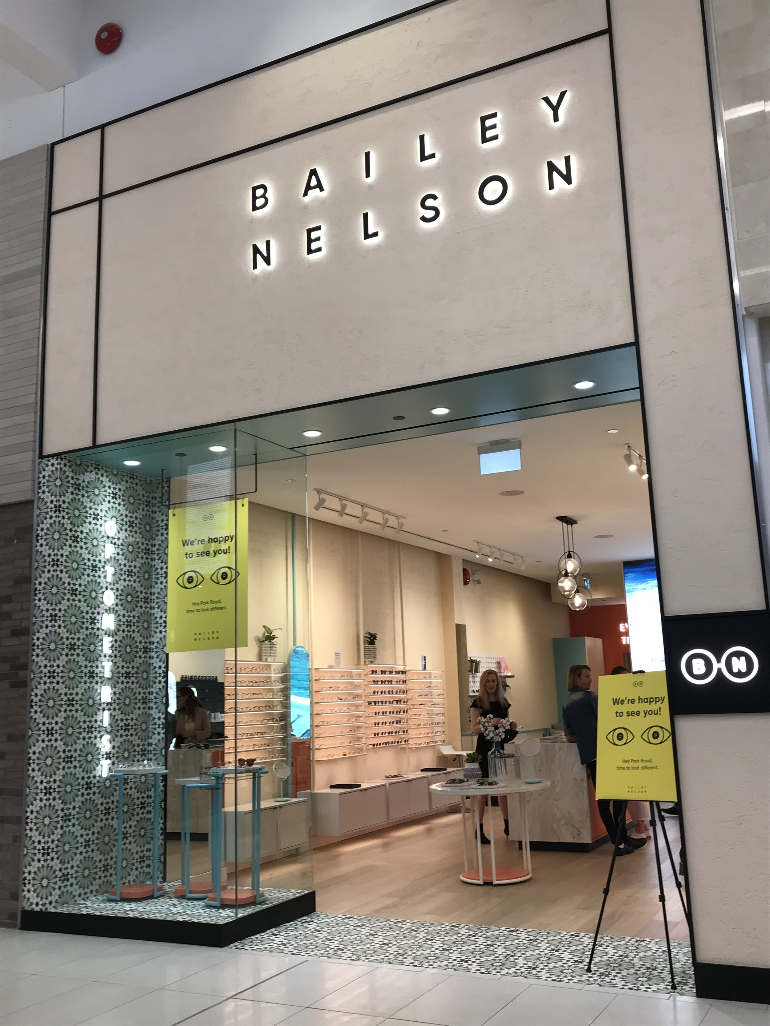 the new bailey nelson boutique at park royal shopping centre: park royal shopping centre