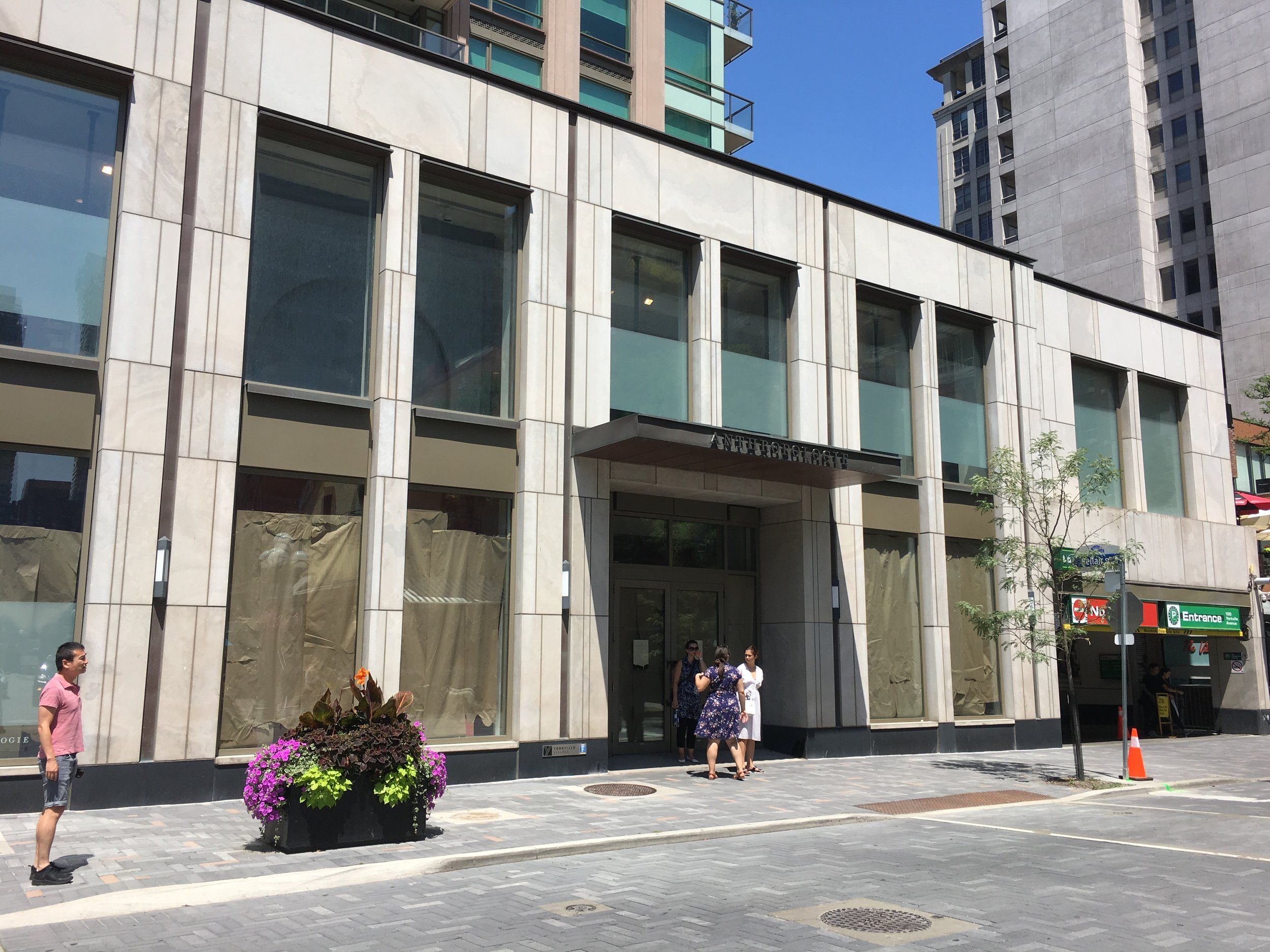 FORMER ANTHROPOLOGIES STORE IN YORKVILLE PHOTO: CRAIG PATTERSON