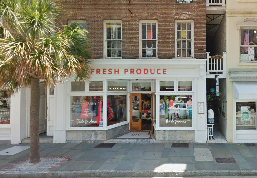 Fresh Produce in Charleston