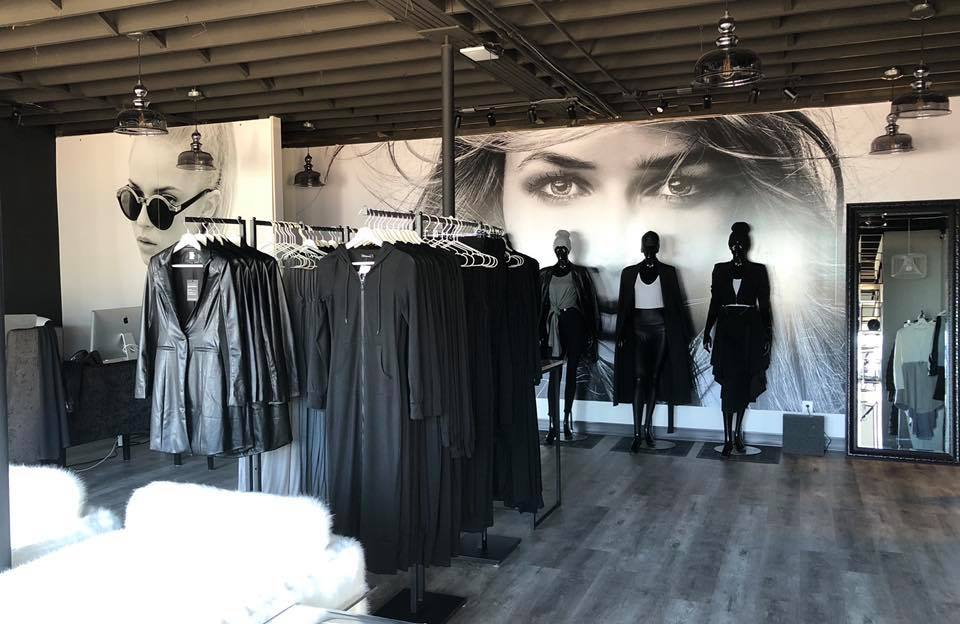 EMMYDEVEAUX SHOWROOM in 'The Building' at 6924 104 Street in Edmonton. PHOTO: EMMYDEVEAUX VIA FACEBOOK
