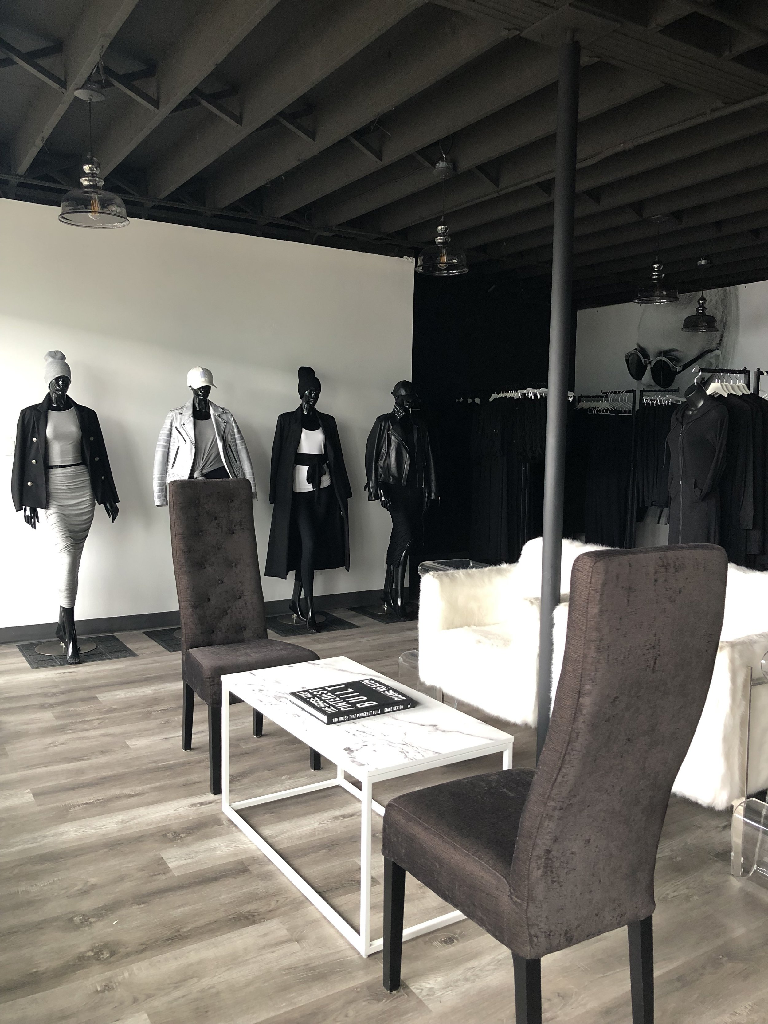 EMMYDEVEAUX SHOWROOM in 'The Building' at 6924 104 Street in Edmonton. PHOTO: EMMYDEVEAUX