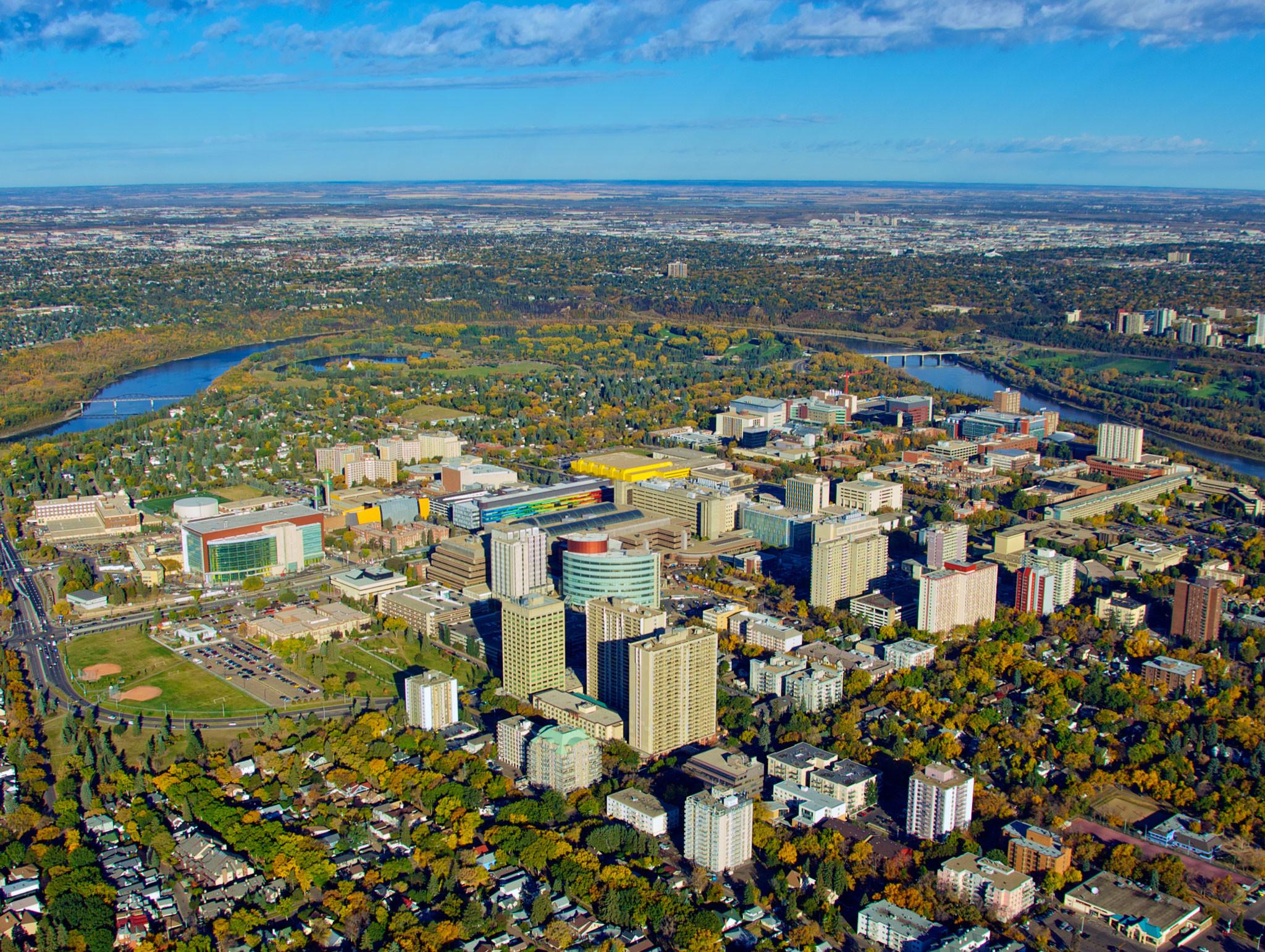 University of Alberta in Edmonton.
