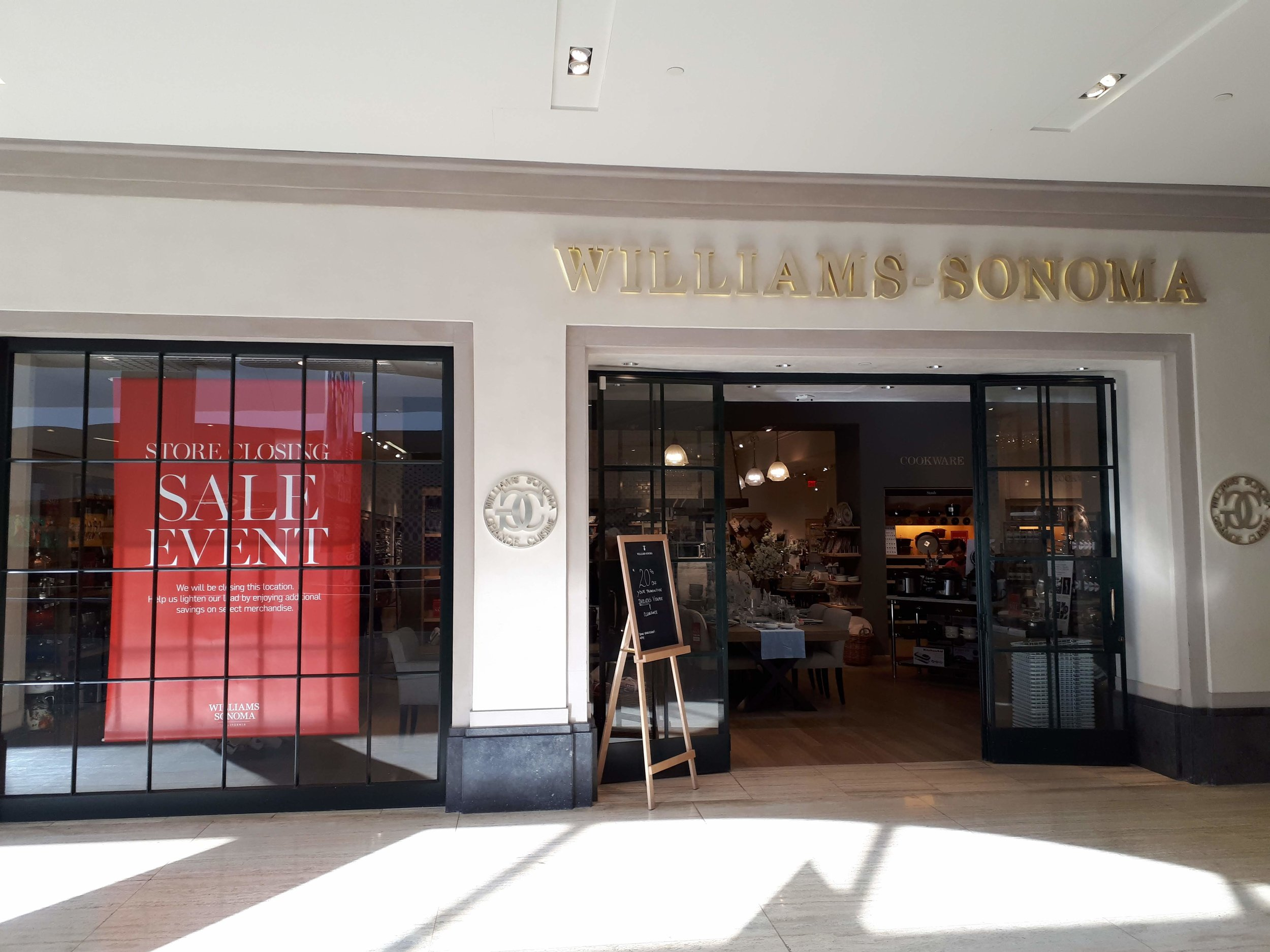 Former Williams Sonoma space, which is now occupied by Browns Shoes. PHOTO: CHRISTOPHER LUI
