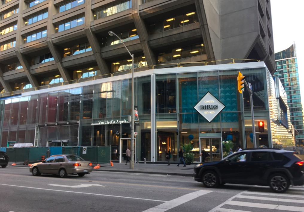 MAISON BIRKS' NEW BLOOR STREET FLAGSHIP AT MANULIFE CENTRE