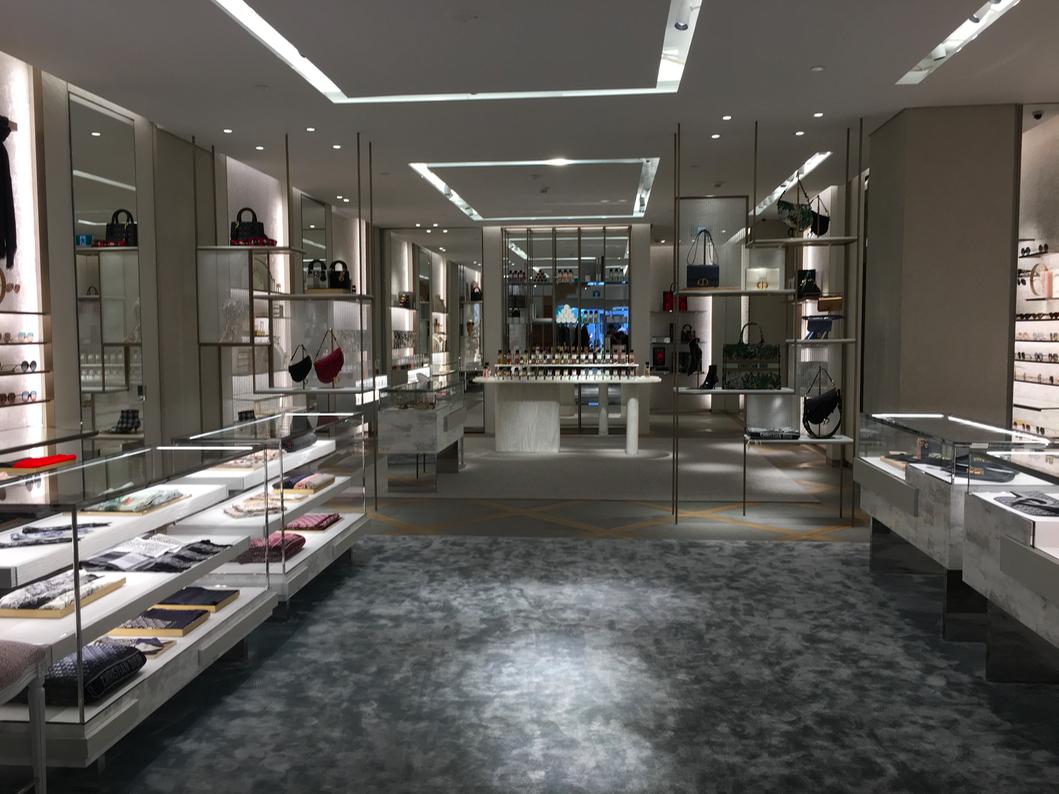 Main floor, looking towards a fragrance area. Photo: Retail Insider