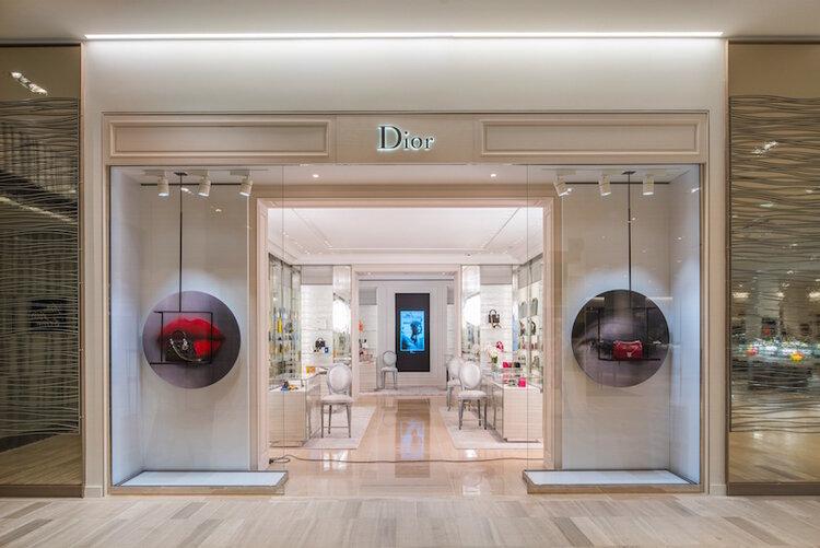 Dior's concession at Saks Fifth Avenue in Toronto. Photo: dior