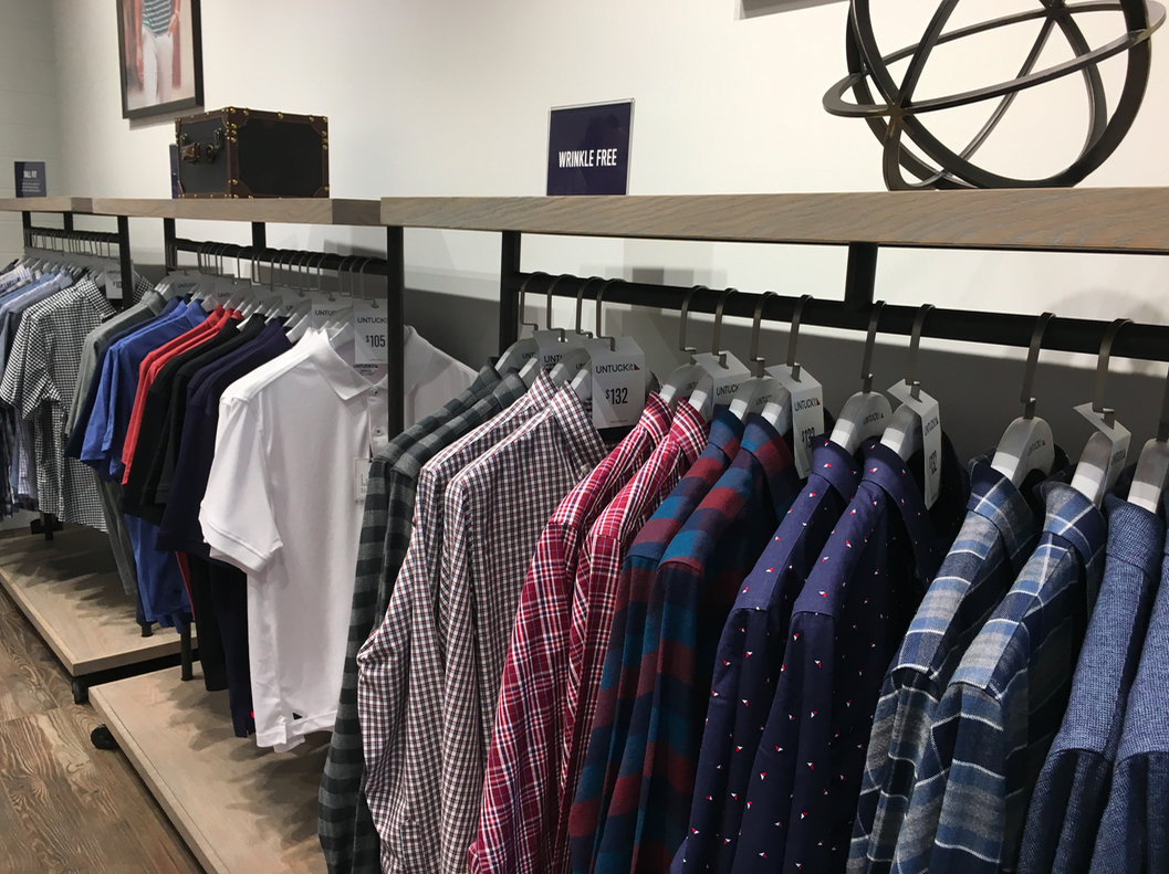UNTUCKIT'S NEW YORKDALE STORE