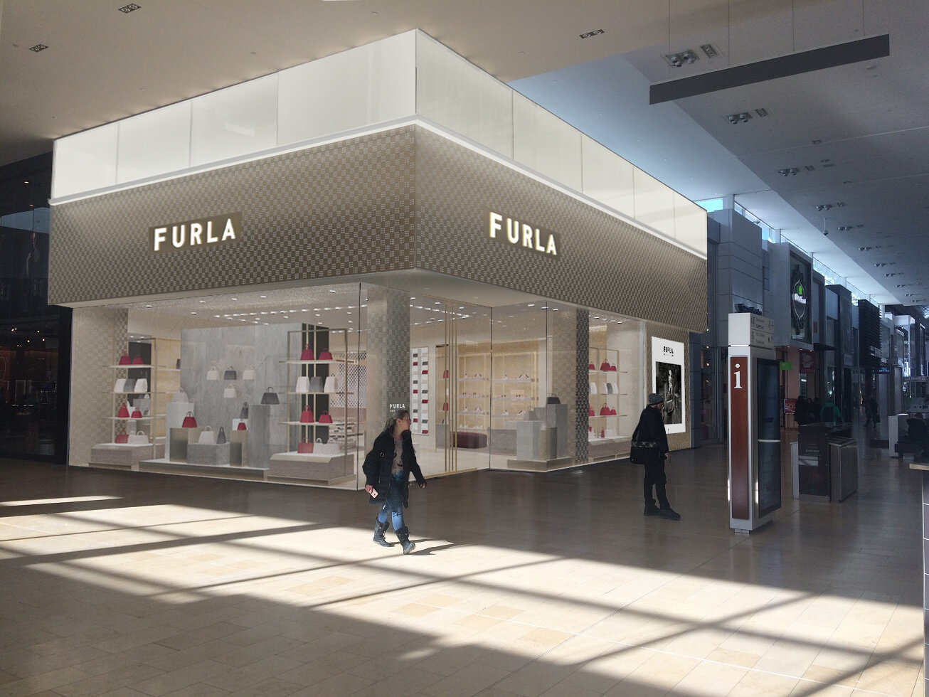 Rendering of the new Yorkdale store. Image supplied