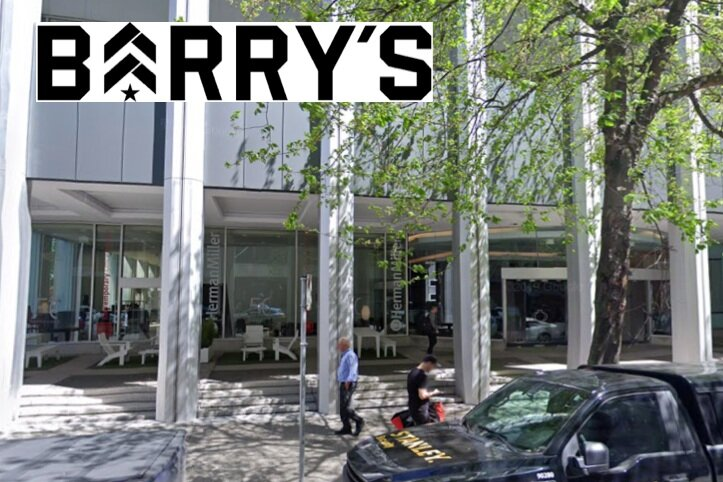 SITE OF BARRY'TS BOOTCAMP NEW VANCOUVER LOCATION 1035 W Pender Street VANCOUVER BC VIA GOOGLE MAPS