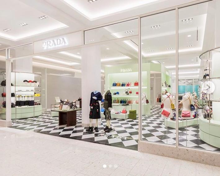 Ground-floor Prada boutique . Photo: Holt Renfrew Ogilvy via Instagram
