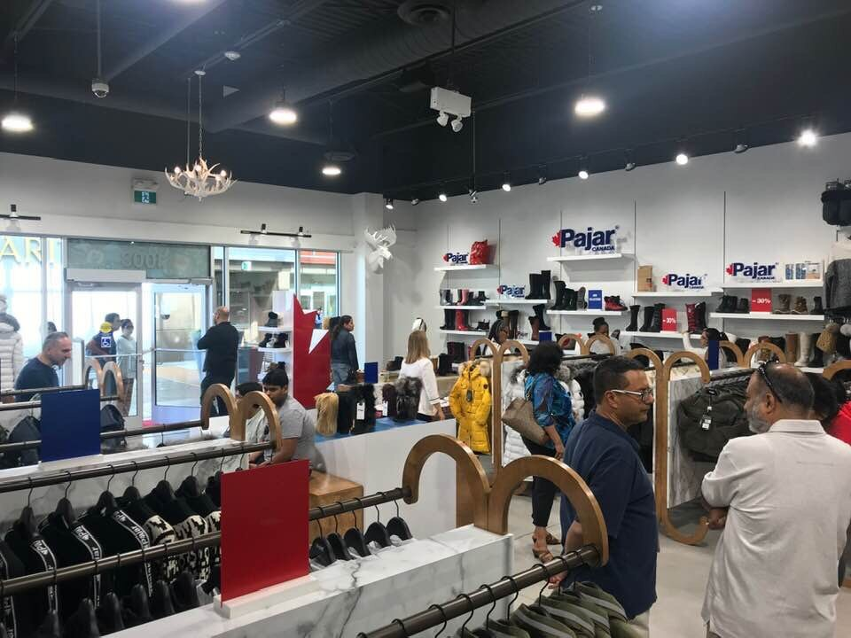 Canadian Fashion Brand Pajar Opens 2nd Permanent Retail