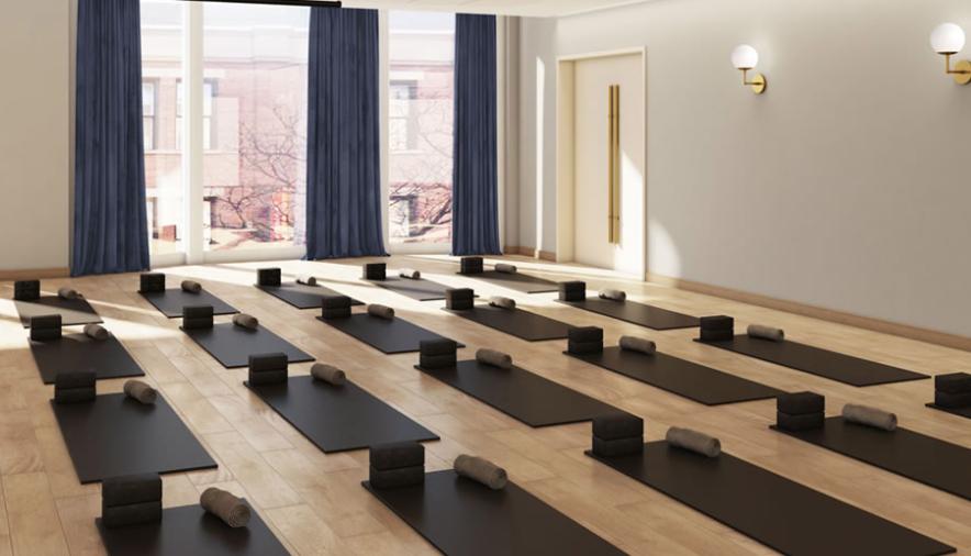 chi junky yoga studio. photo: sweat & tonic