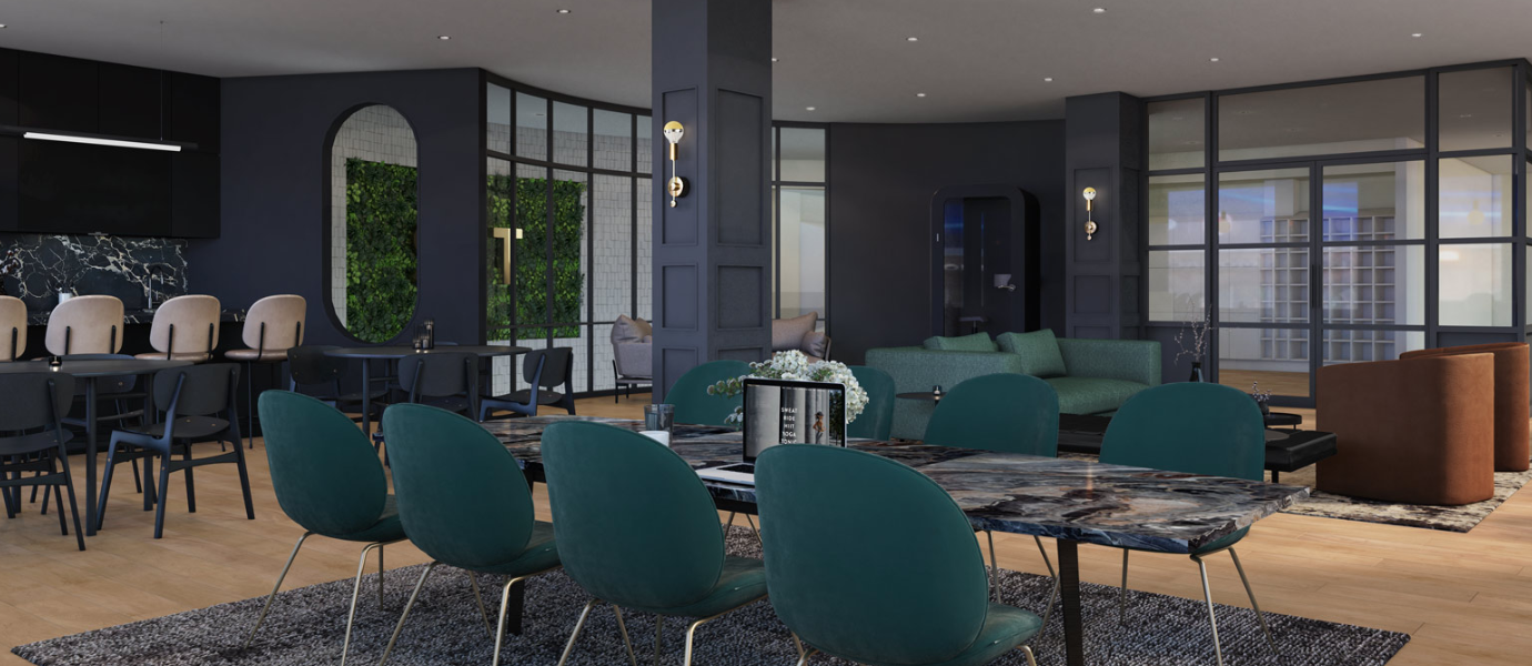 Rendering of tonic house.