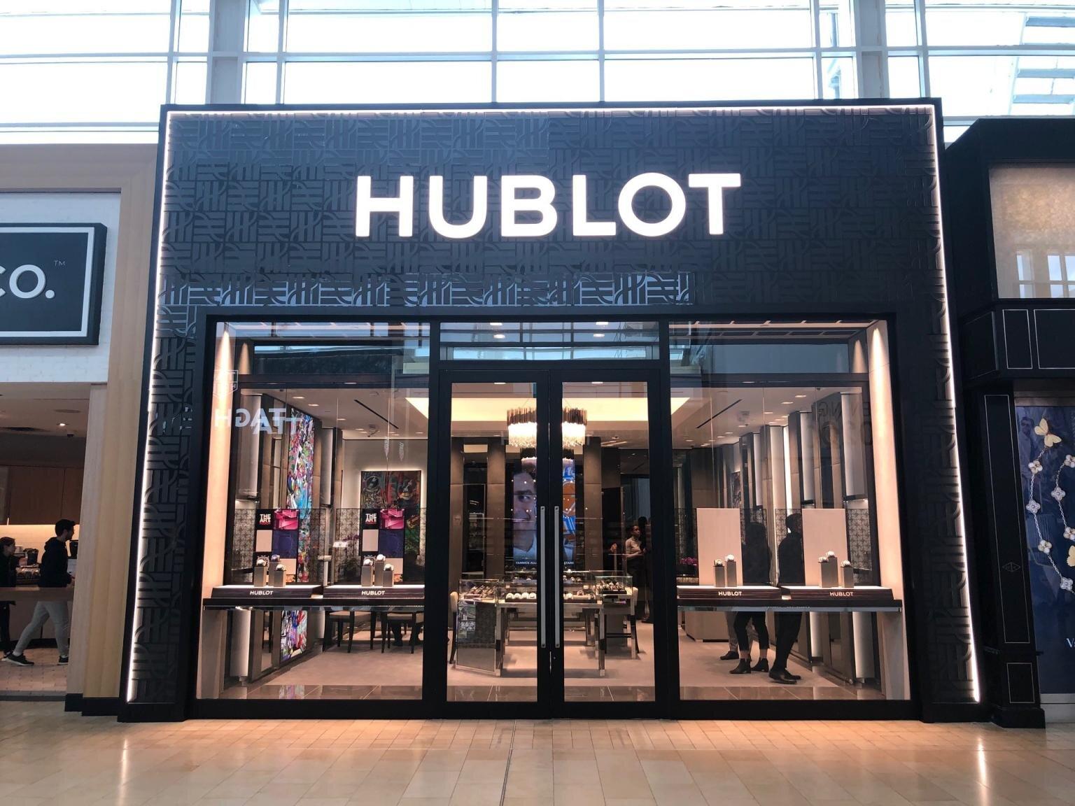 Photo of Hublot at Toronto's Yorkdale Shopping Centre. PHOTO: HUBLOT