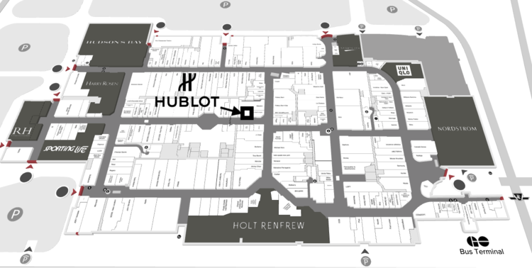 IMAGE: FLOOR PLAN OF YORKDALE MALL