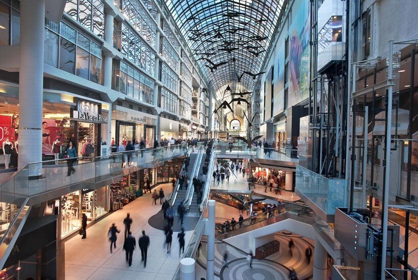 cf toronto eaton centre. photo: mall database