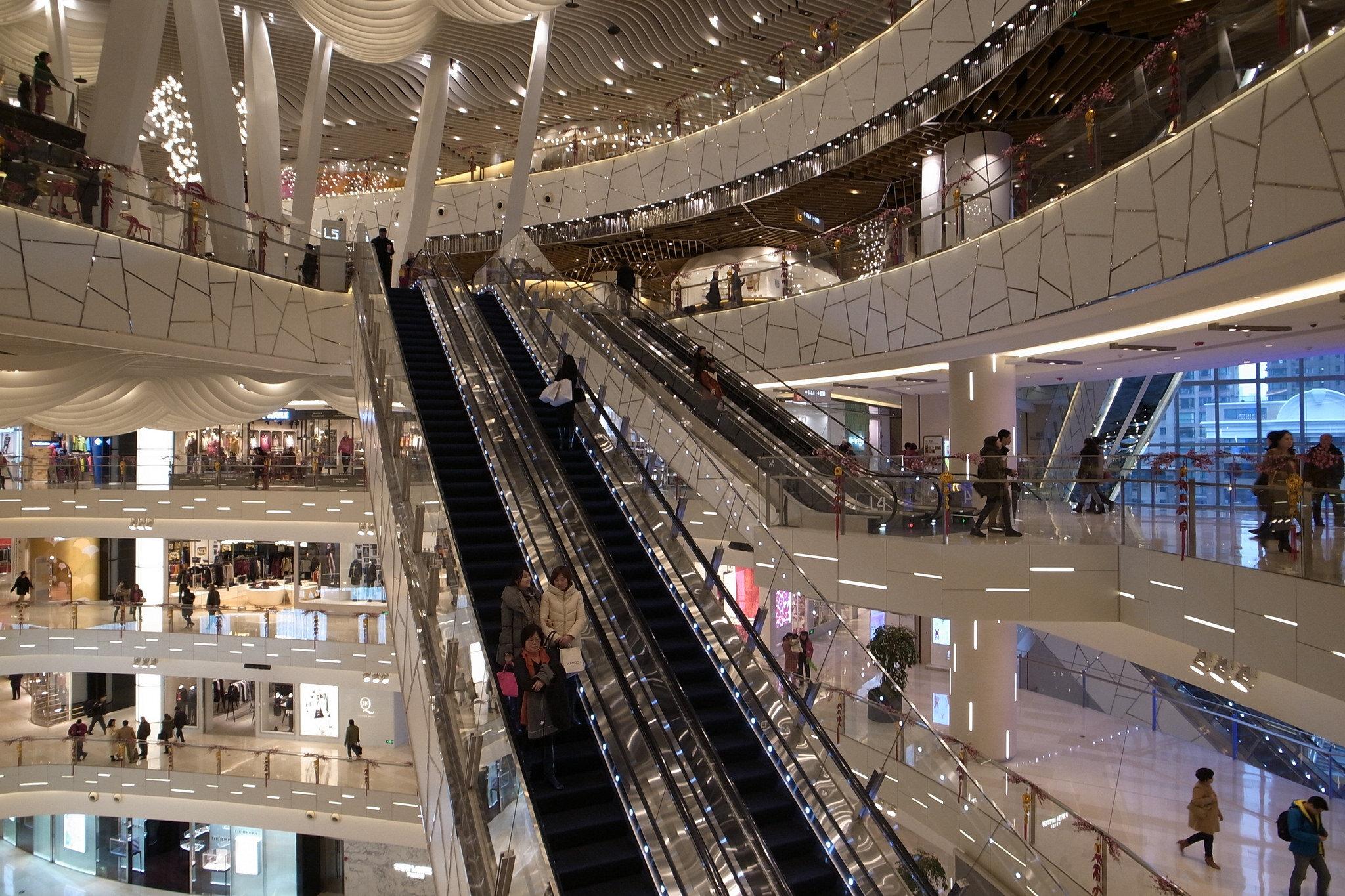 iapm mall in shanghai. photo: thousand wonders