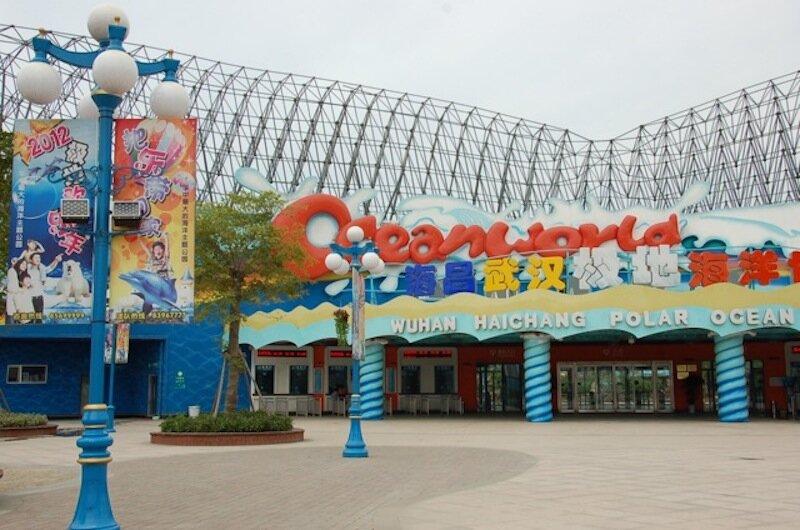 haichang ocean parks are once again open. photo: haichang ocean park