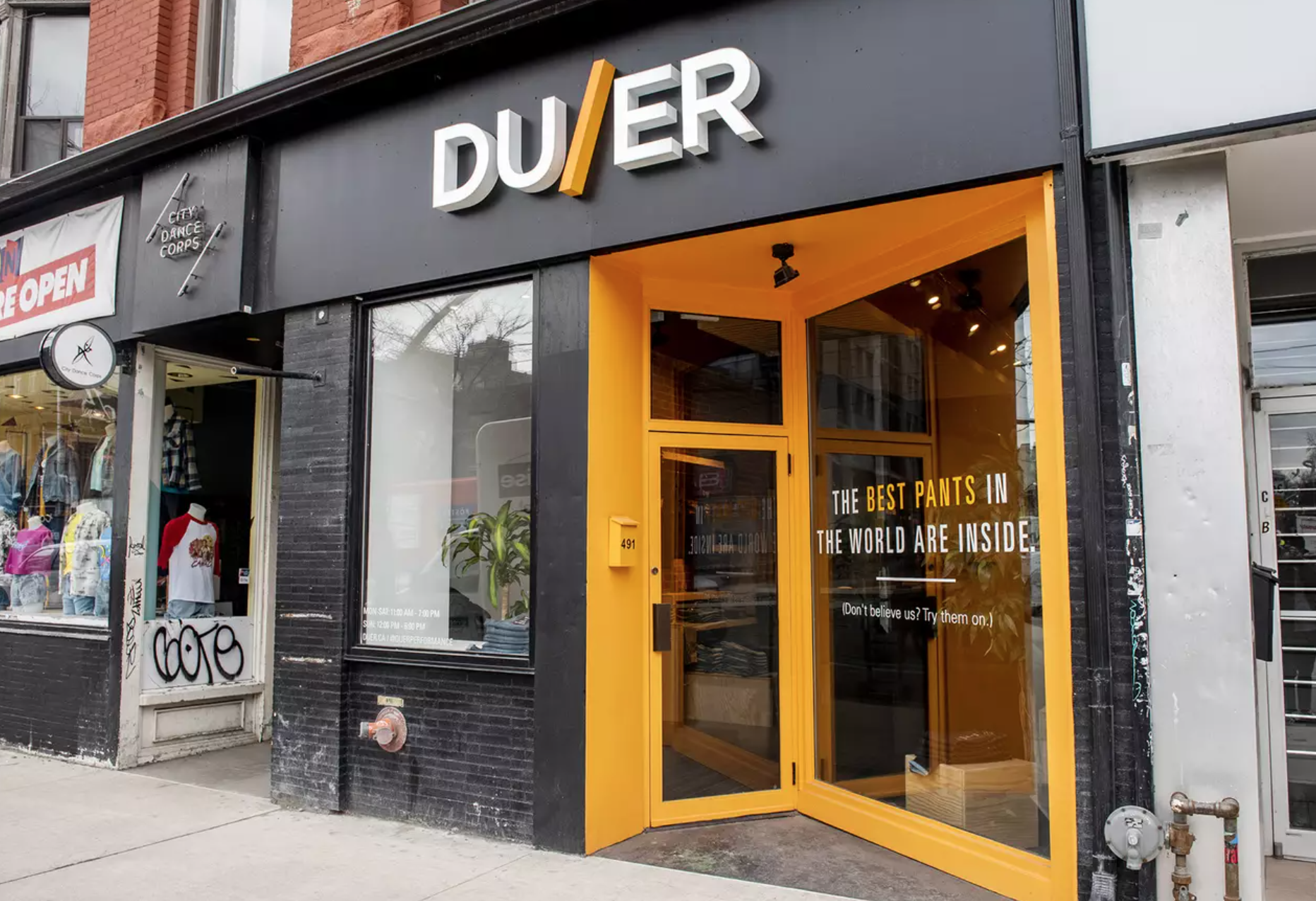 duer location in toronto. photo: duer