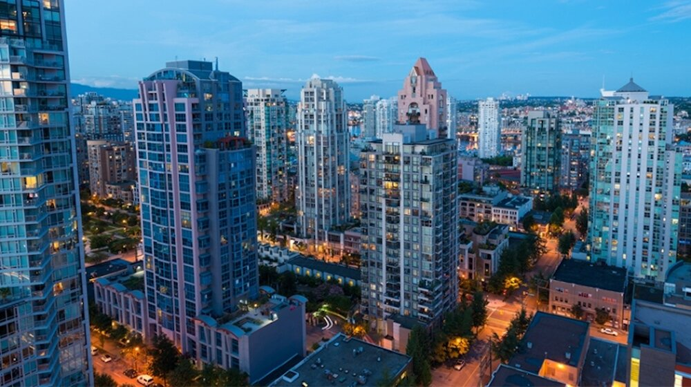commercial real estate in downtown vancouver. photo: vancouver courier