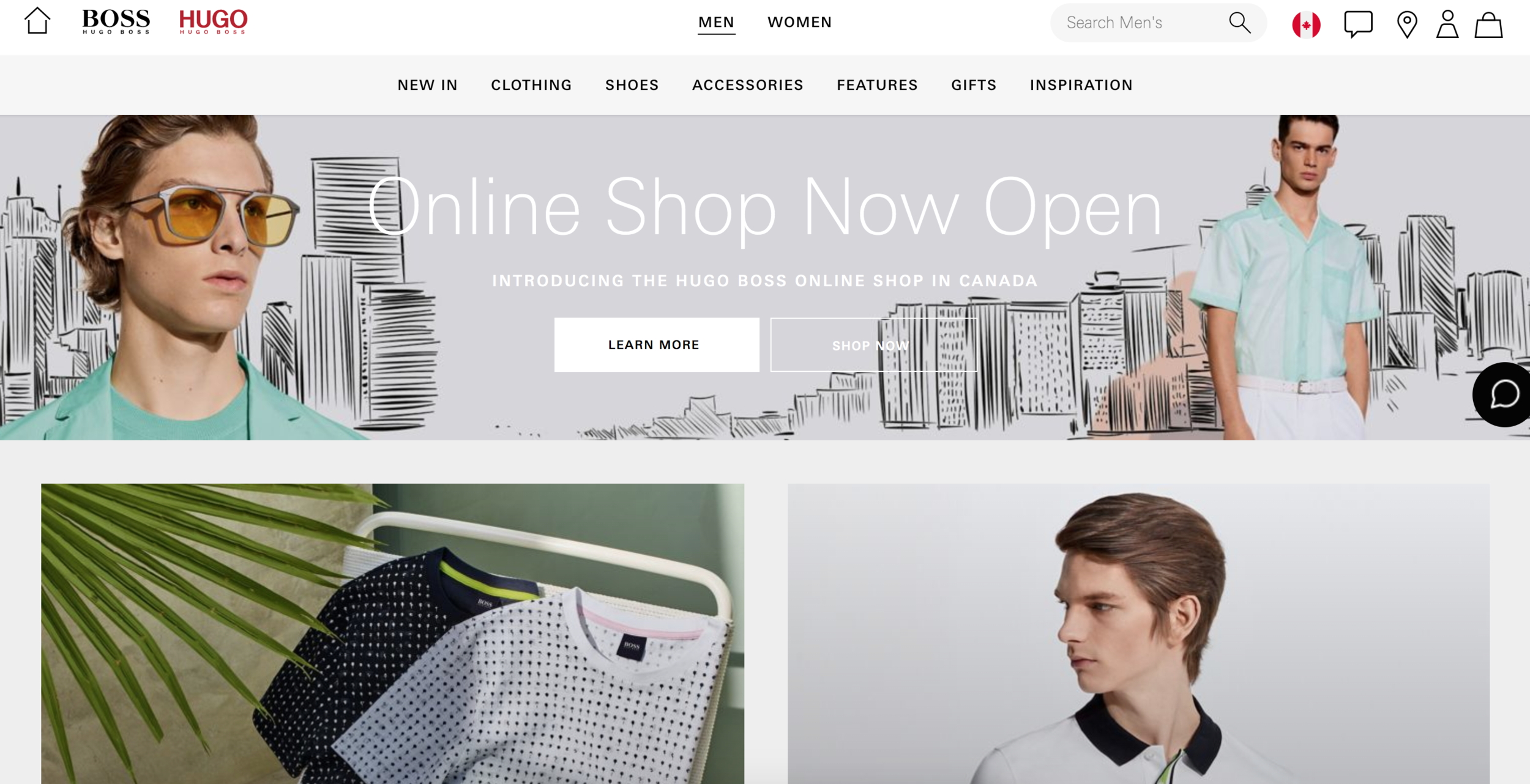 hugo boss online shop
