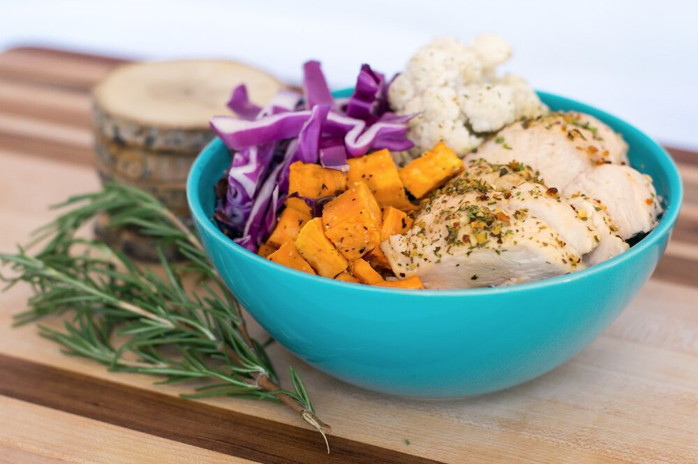 NUTRIMEALS Dragon Bowl DINNER/LUNCH OPTION. PHOTO: NUTRIMEALS