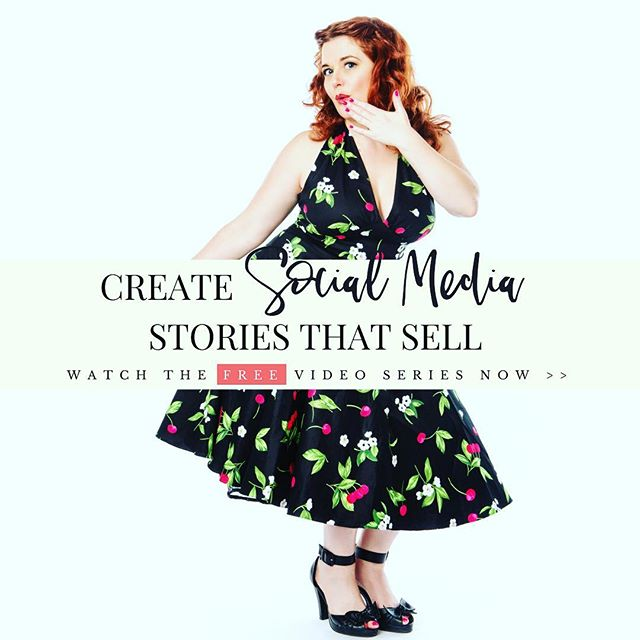"""Hello Darling!⠀ ⠀ I have a fun announcement!  Today I'm releasing a three-part video series on """"How to Create Social Media Stories that Sell"""" (LINK IN BIO)⠀ ⠀ The next 12 minutes will have you start seeing results with your very next post so don't wait. This series will be taken down soon!⠀ ⠀ In this video my behind-the-scenes biz partner, Jenny Taylor and are going to reveal exactly how we used the FB group strategy you will learn today to sell our products and services. It's also how we discovered each other! ⠀ ⠀ Before I started running paid advertising campaigns frequently, 90% of my email list came from the exact posts I'm sharing with you in the swipe file that comes with the video⠀ ⠀ If you start posting in that exact place your ideal clients are, you don't need to be browsing the feed all day. You can go for a run, the spa, hang out with family... Whatever is calling to you beyond your computer!⠀ ⠀ Close your tabs, grab a cup of your favorite beverage and watch video one now. ⠀ ⠀ When you are finished, come on over to our pop-up Facebook group and work on upgrading your social media content with our coaching! It's free but it will be taken down Feb 12th so come take advantage. (Link in Bio)"""