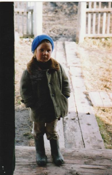 Child in the Altai