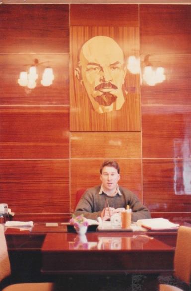 Me and V.I.Lenin