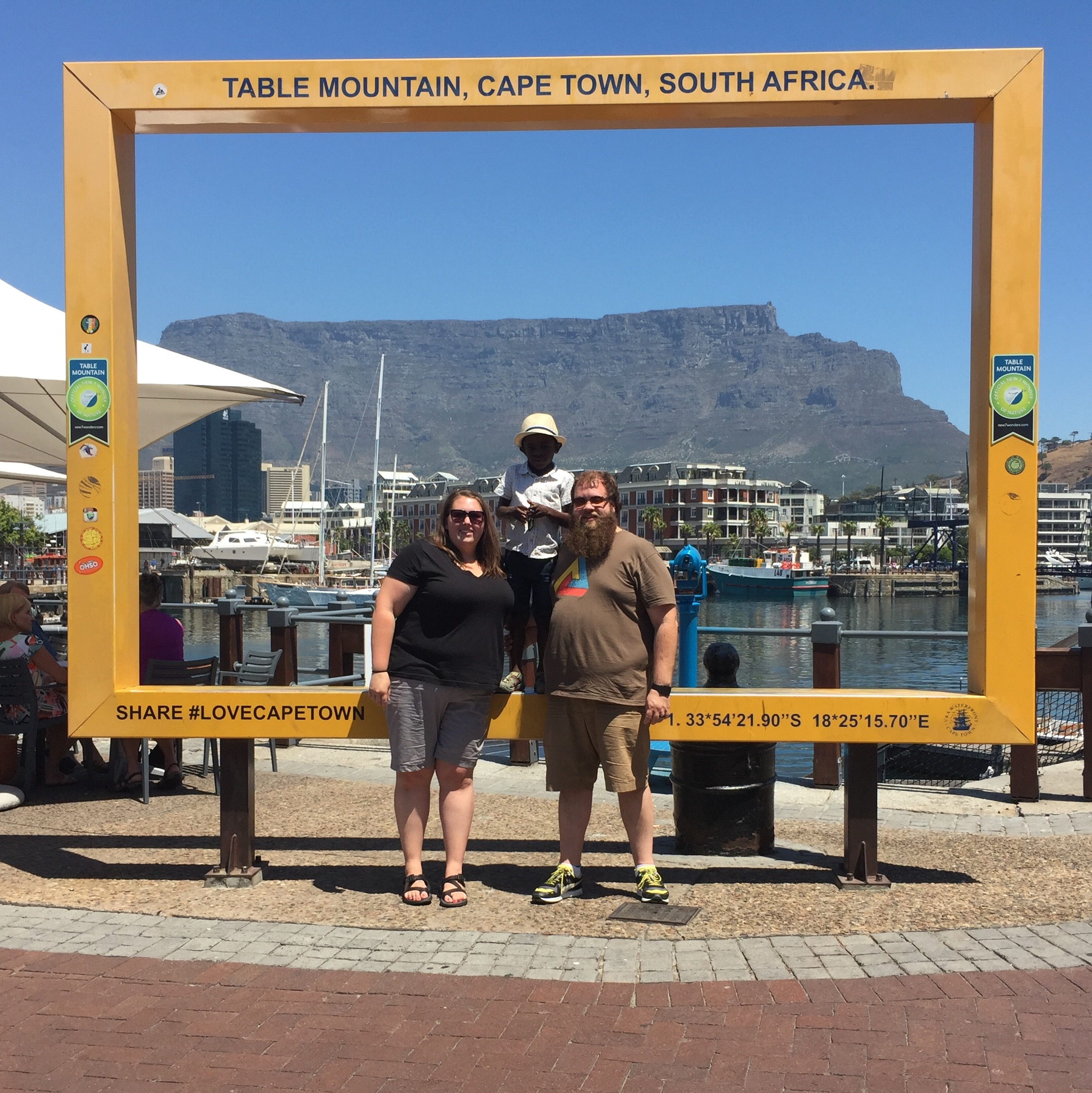 Table Mountain family photo!