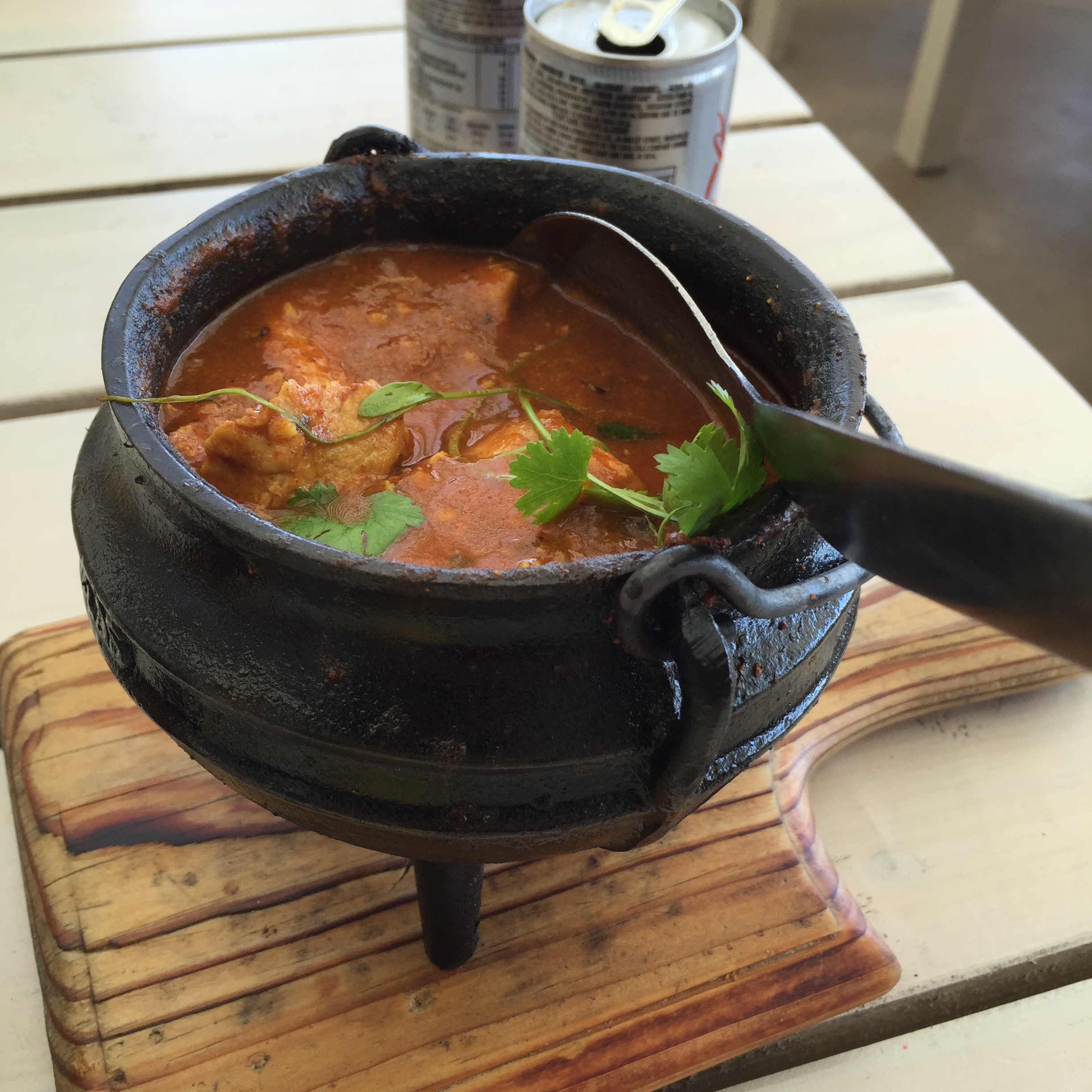 Chicken Curry Pot. So delicious.