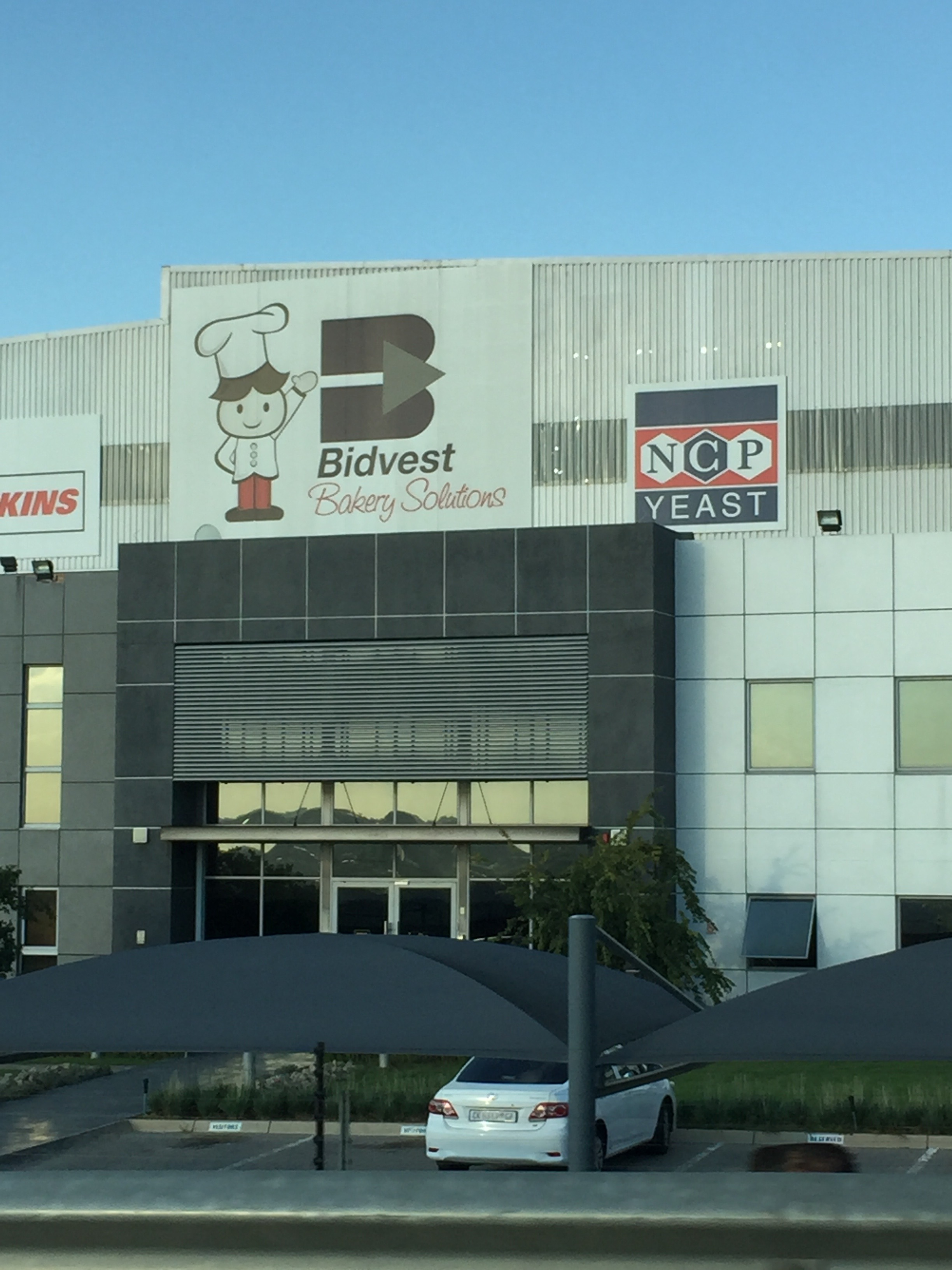 More in Gauteng than Cape Town, we found Bidvest was EVERYWHERE! They did car rentals, banking, staffing, apparently baking (see photo), and even toilet paper supplies. Brian and I decided if Bidvest ever went under, the whole country would stop working properly.