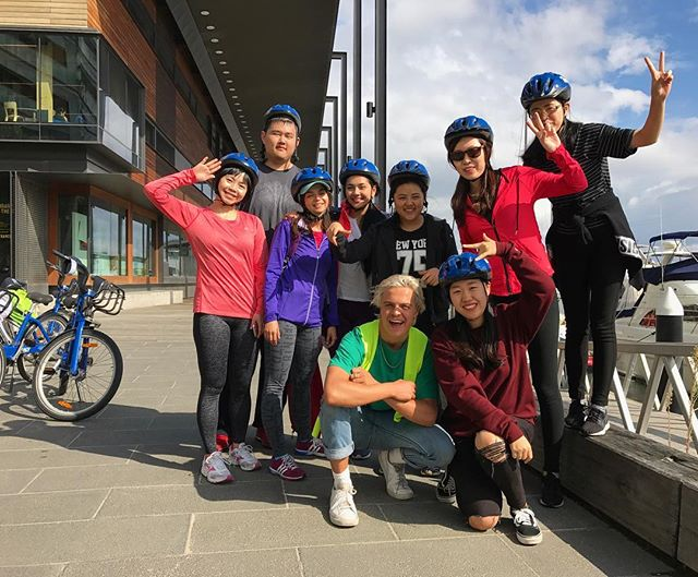 Another fabulous student ride with a very fun group yesterday on a typical moody Melbourne weather day! Four seasons in one day won't stop us, we keep rollin and rollin 🚴🏼 🌦🌈☔️